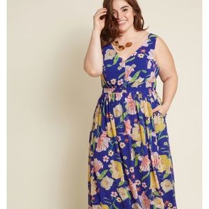 ModCloth Muster the Length Maxi Dress —3X
